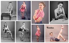 Pin up session #session #phosession #pinup #fashion #model #Warsaw #studio