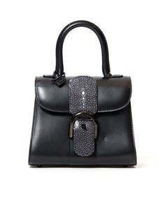 c17f8af8df3b Labellov Delvaux Brilliant Mini Box Calf Sunset ○ Buy and Sell Authentic  Luxury