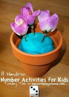 8 Hands-on Number Activities for kids