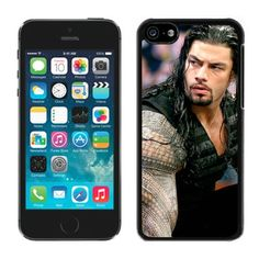 Wwe Superstars Collection Wwek Roman Reigns(1) Black iPhone 5C Phone Case Genuine Custom Cover