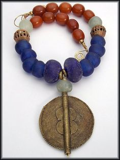 DREAMS iof AFRICA Handmade African Glass by sandrawebsterjewelry, $200.00