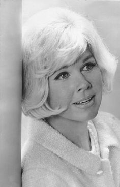 """DORIS DAY. Born: Doris Mary Ann Kappelhoff. April 3, 1924, in Ohio, USA. Doris starred in """"Calamity Jane"""" (1953), which was a major hit, & several more followed: """"Lucky Me"""" (1954), """"Love Me or Leave Me"""" (1955), """"The Man Who Knew Too Much"""" (1956) and what is probably her best-known film, """"Pillow Talk"""" (1959). She briefly dated Ronald Reagan shortly after his divorce from Jane Wyman when she & Reagan were contract players at Warner Brothers. Day married 4 times & now devotes her life to…"""
