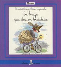 La bruja que iba en bicicleta, de Elisabet Abeya