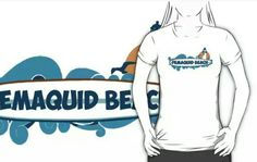 Pemaquid Beach Wear.  #maine  Available in redbubble and cafepress.