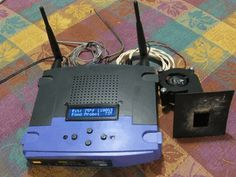 Using an old Linksys Router to control a BBQ -- have to read this.