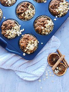 Muffins orange, cannelle et carottes