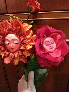 Alice in Wonderland Flowers by CreartiveStudios on Etsy https://www.etsy.com/listing/218410634/alice-in-wonderland-flowers