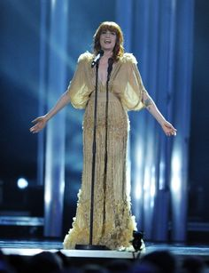 Check out this evening dress at Florence + the Machine performance