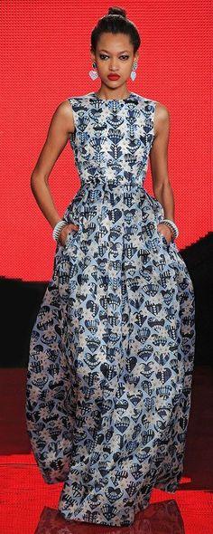 Holly Fulton London Fashion Week ~African Prints, African women dresses, African fashion styles, african clothing