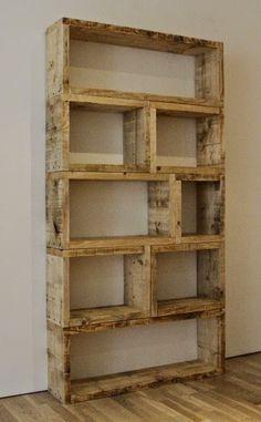 60 Εκπληκτικά ράφια απο παλέτες! | Φτιάξτο μόνος σου - Κατασκευές DIY - Do it yourself