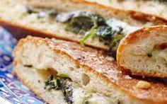 Brød med ost