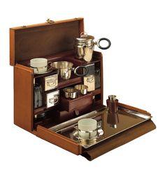 1926 Leather Louis Vuitton Tea Case