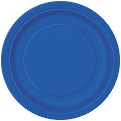 Blå Paptallerken - Single