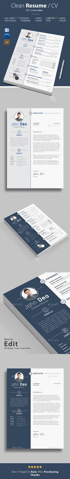 Resume Resume cv, Cv template and Design resume - resume word template download