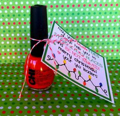 Another Young Womens Christmas Gift idea. From Marci Coombs Blog