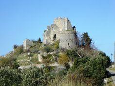 Castello di Esperia (FR) - Foto by Archivio Ente Parco Naturale Monti Aurunci