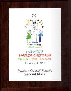 Chef's for Kids 5k - Jan 2013
