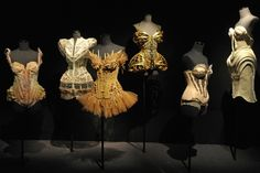Jean Paul Gaultier unveils his retrospective exhibition in Paris. Click on the image to read more.
