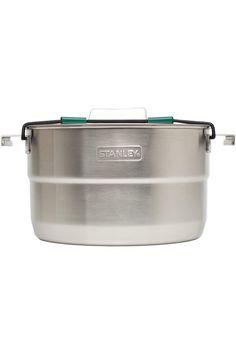 Keith 3Pcs Titanium Pot And Pan Camping Hiking Cookware Set Bowl Rustproof