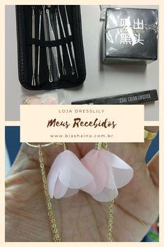 Recebidos Dresslily! #recebidos #fashion #beauty #dicasdecompras #dicasdemoda #batons Blog, Shopping Tips, Lipsticks, Fashion Hacks, Blogging