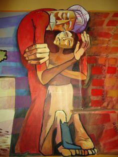 """Résultat de recherche d'images pour """"arcabas chemin de croix christ on lille"""""""