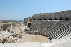 Roman Theater in Side, Turkey