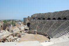 Roman Theater in Side, Turkey