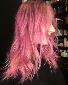 Love this color on @unicornface by @wespine - try our Venus Pack for your own custom pink look! #lunartides #pinkhair