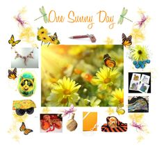 """""""One Sunny Day"""" by glassdreamshawaii ❤ liked on Polyvore featuring art"""