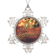 Painted Rustic Christmas - Wood with Holly Trim Snowflake Pewter Christmas Ornament  Painted Rustic Christmas - Wood with Holly Trim Snowflake Pewter Christmas Ornament    $21.70  by  Tannaidhe  https://www.zazzle.com/painted_rustic_christmas_wood_with_holly_trim_snowflake_pewter_christmas_ornament-256556339461442242?rf=238565296412952401    - - - Come see all my other items at my Zazzle shop!  http://www.zazzle.com/tannaidhe?rf=238565296412952401&tc=MPPin