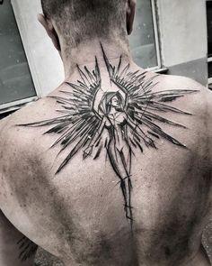 3,017 vind-ik-leuks, 23 reacties - Inez Janiak (@ineepine) op Instagram: '#blacktattoomag #blacktattooart #btattooing #darkartists #inkstinctsubmission #equilattera #tattoo…'