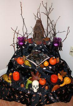 hallowmas / samhain goddess altar