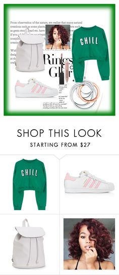 """Untitled #365"" by fashion-style-tv ❤ liked on Polyvore featuring Tiffany & Co., adidas, Aéropostale and Burberry"