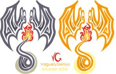 charizard wings tattoo | Tribalish Charizard - Be the dragon! by *vaguelygenius on deviantART