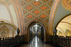 Interior of Fisher Building, Detroit - Art Deco - Wikipedia