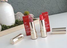 Beauty   Clarins Joli Rouge Velvet Lipstick Woodberry & Pink Cranberry