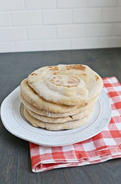 Homemade Whole Wheat Flatbread | A Beautiful Mess | Bloglovin'