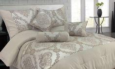 Groupon - Lavish Home 7-Piece Comforter Sets in King or Queen (64% Off). Multiple Styles Available. Free Shipping and Returns. in Online Deal. Groupon deal price: $59.99