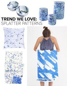 Trend We Love: Splatter Patterns | Lonny.com