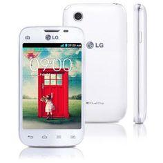 """Celular Desbloqueado LG L40 Dual D175 Branco com Tela de 3,5"""", Dual Chip, Tv Digital, Android 4.4, Câmera 3MP, 3G, Wi-Fi, Rádio FM e Bluetooth"""