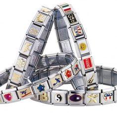 Chain link charm bracelets! ZOMG!