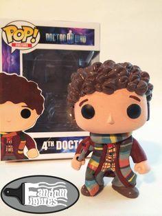 Doctor Who 4th Doctor (Tom Baker) custom Funko POP!