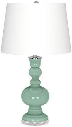 Grayed Jade Apothecary Table Lamp - EuroStyleLighting.com