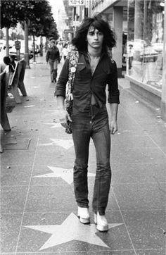 Johnny Thunders - NYC 1973, by Bob Gruen