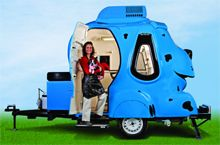 Awesome! Mobile Pet Grooming Trailer! Too bad its $50k to start with an investment of $103k :/