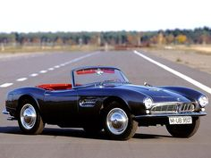 Which car influenced the designs of BMW & ? It was the BMW The BMW 507 was a roadster produced by BMW from 1956 to This car was the most powerful sports car with engine. Total 252 cars were produced, so if you ever saw one, you are lucky! Cool Sports Cars, Sport Cars, Cool Cars, Bmw Sport, Bmw Z3, Retro Cars, Vintage Cars, 1960s Cars, Convertible