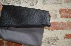 Un joli sac pochette, défi pinterest n°12