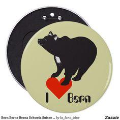 Bern Berne Berna Schweiz Suisse Svizzera Svizra Runder Button 15,3 Cm