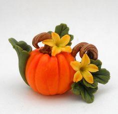 Lory's pumpkin teapot