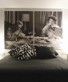 spencer & kate in bed